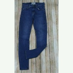 Current Elliot The Highwaist Ankle Skinny Jeans